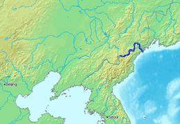 Cartina India Del Nord.Sungai Tumen Sungai Duman Ensiklopedia Bebas Kk Sttbandung